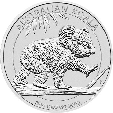 Silber Koala 1kg - 2016