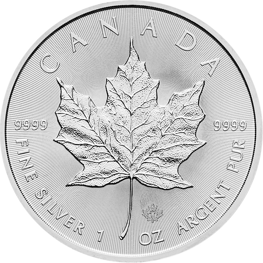 Silber Maple Leaf 1 oz